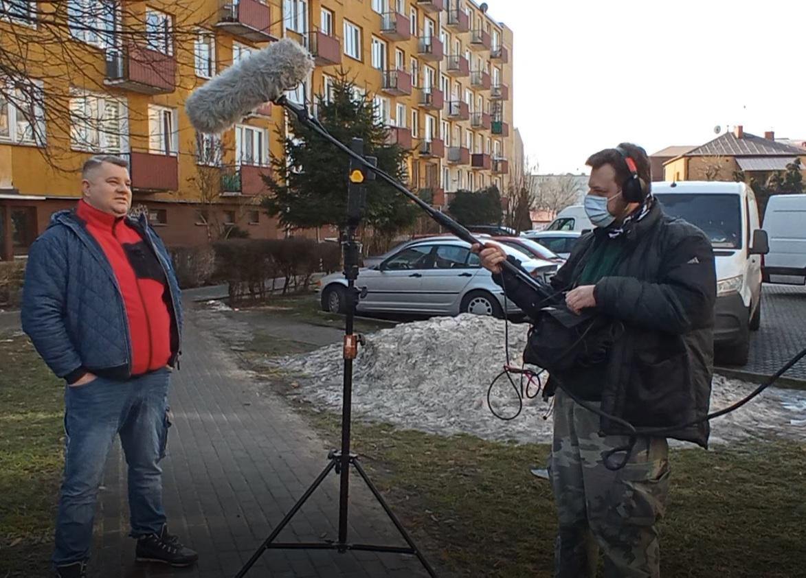 """""""Nasz nowy dom"""" w Łukowie. Byliśmy na planie (WIDEO) - Zdjęcie główne"""