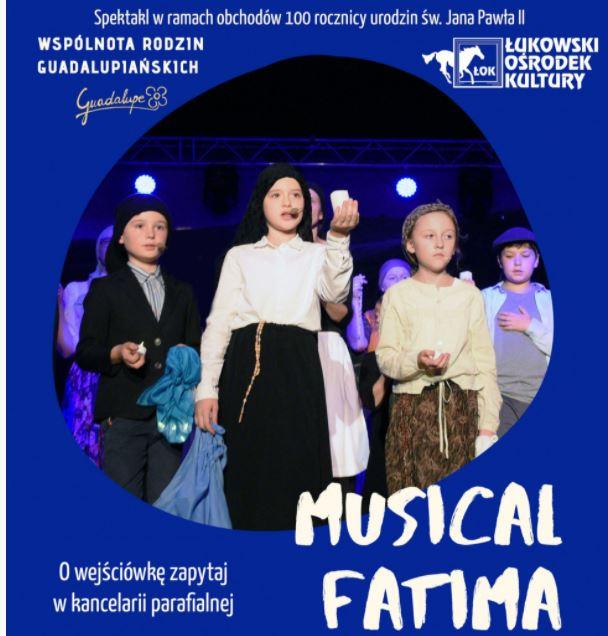 """Przeniesiony termin musicalu """"Fatima"""" - Zdjęcie główne"""