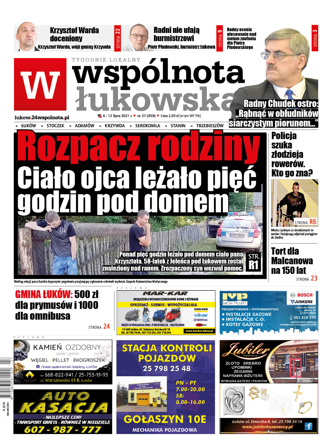 Najnowszy numer Wspólnoty Łukowskiej - Zdjęcie główne