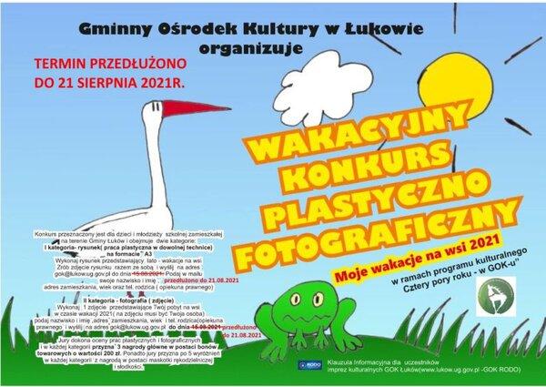 Gmina Łuków: Więcej czasu na wakacyjne propozycje - Zdjęcie główne