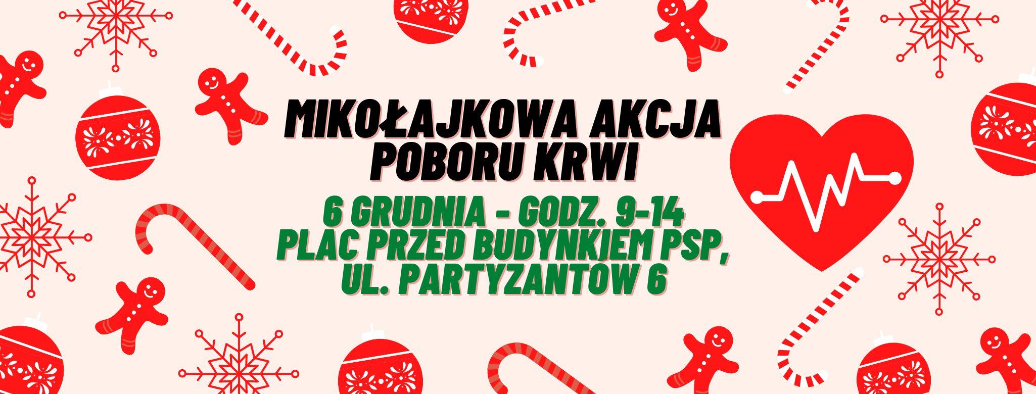 ŁUKÓW W Mikołajki możesz oddać krew! - Zdjęcie główne