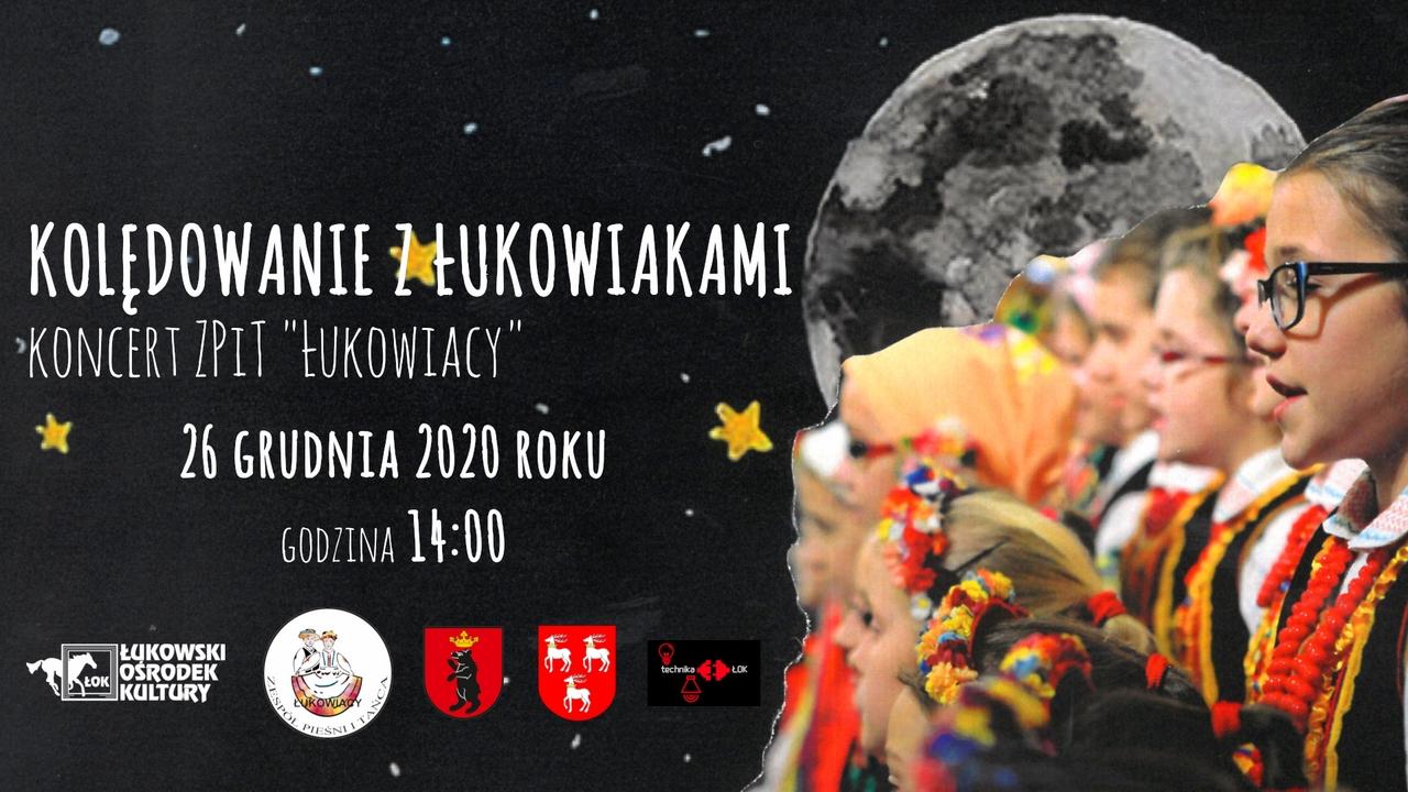 """Kolędowanie on-line z zespołem """"Łukowiacy"""" - Zdjęcie główne"""