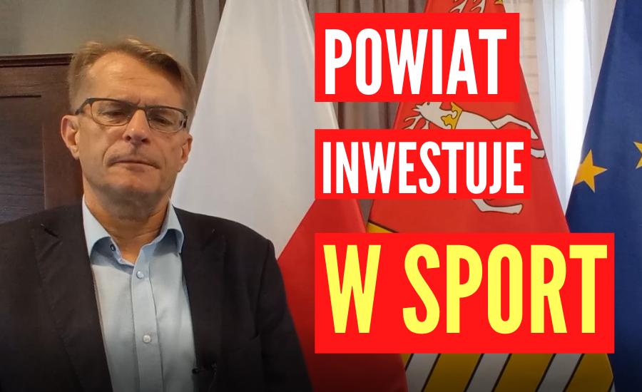 ŁUKÓW. Powiat inwestuje w sport (WIDEO) - Zdjęcie główne