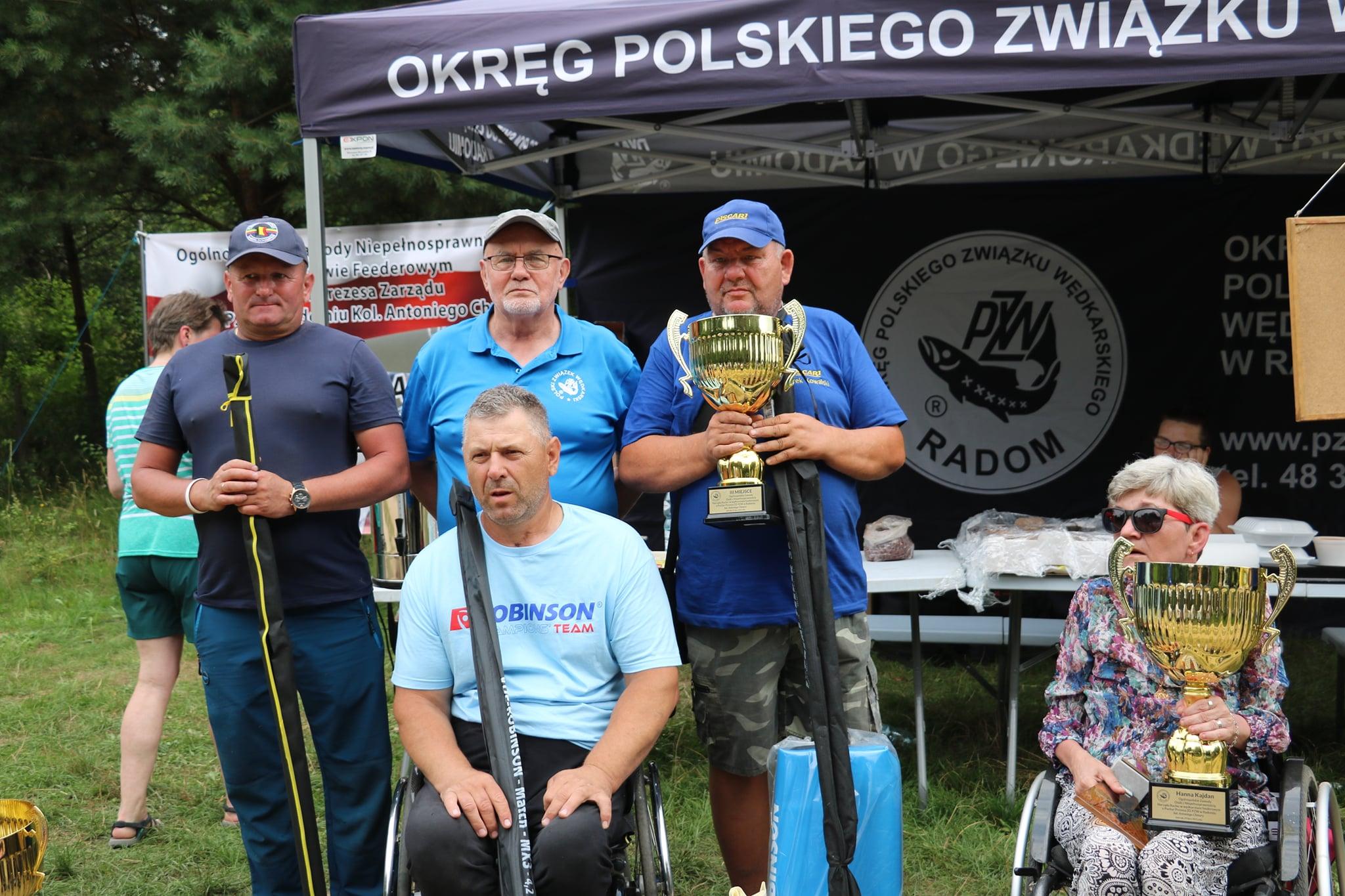 ŁUKÓW. Marek Kowalski trzeci na zawodach wędkarskich w Jastrzębiu  - Zdjęcie główne