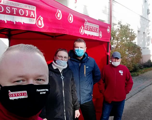 """""""Ostoja"""" promuje idee krwiodawstwa  - Zdjęcie główne"""