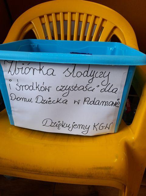 GM. STOCZEK ŁUKOWSKI KGW w Szyszkach zbiera słodycze dla dzieci z Domu Dziecka w Adamowie - Zdjęcie główne