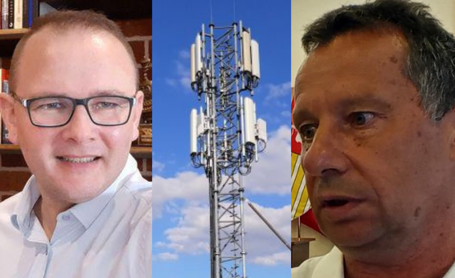"""Maszt 5G w Łukowie. Radni PiS krytykują burmistrza i ... starostę. Płudowski: """"Wiadro pomyj""""  (WIDEO) - Zdjęcie główne"""