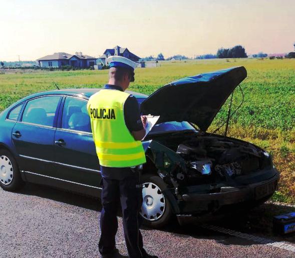 Trzy osoby ranne w wypadku  - Zdjęcie główne
