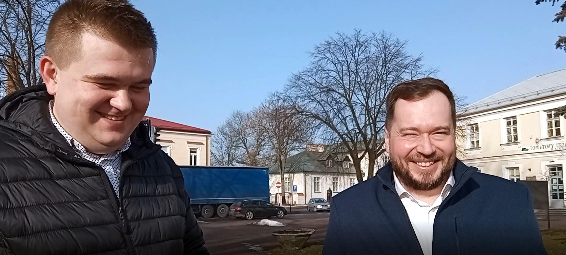 """ŁUKÓW. Popławski i Sych przeciw brutalizacji języka w polityce. """"Zdziczenie i chamstwo""""  (WIDEO) - Zdjęcie główne"""
