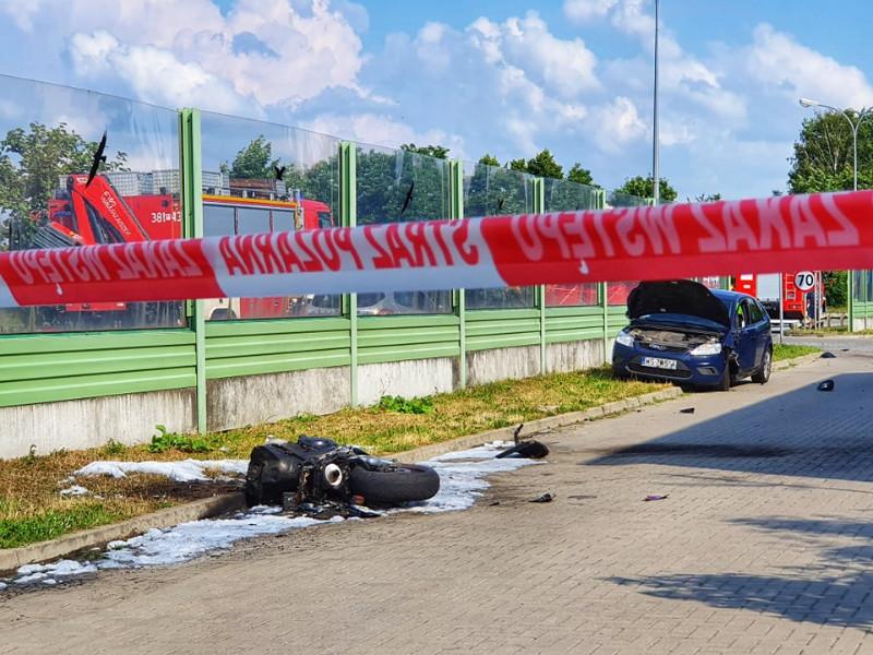 Siedlce: Śmiertelny wypadek z udziałem motocyklisty - Zdjęcie główne