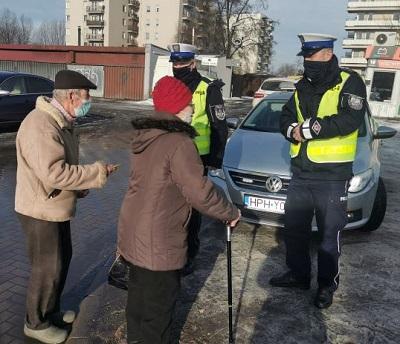 """Akcja """"Niechronieni uczestnicy ruchu drogowego"""" w Siedlach - Zdjęcie główne"""