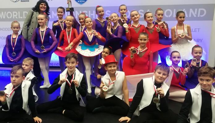 Tancerze Caro Dance Siedlce wśród najlepszych tancerzy Mistrzostw Świata Ossa 2019r. - Zdjęcie główne