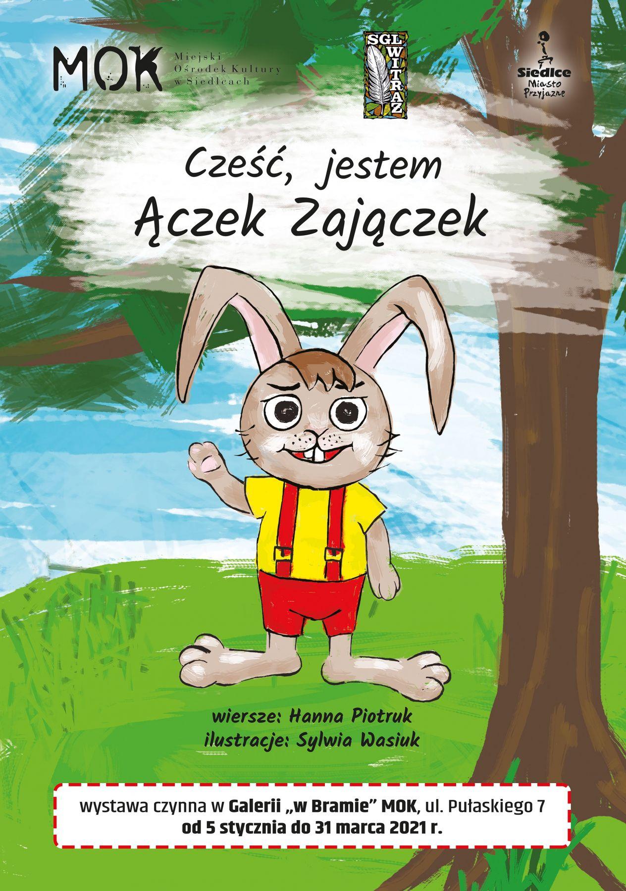 """""""Cześć, jestem Ączek Zajączek"""" - Zdjęcie główne"""