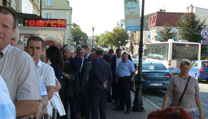 Kaczyński w Siedlcach: podwyższona ostrożność - Zdjęcie główne