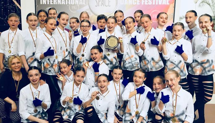 Dwa razy Grand Prix dla tancerzy LUZ na Międzynarodowym Festiwalu w Wilnie - Zdjęcie główne