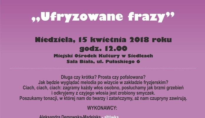 Smykofonia na Mazowszu: Ufryzowane frazy - Zdjęcie główne