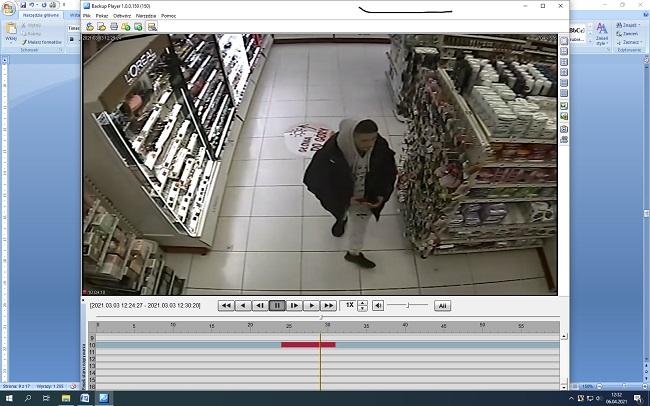 Siedlce: Nakradł kosmetyków w Rossmannie za 700 zł. Rozpoznaj go - Zdjęcie główne
