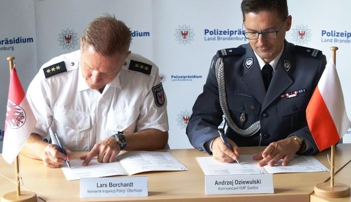 Będzie międzynarodowa współpraca siedleckiej komendy - Zdjęcie główne
