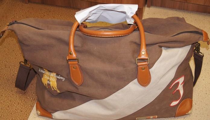 Komunikat: Znaleziono torbę podróżną - Zdjęcie główne