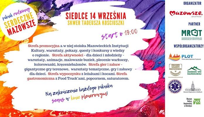 Serdeczne Mazowsze zawita do Siedlec - Zdjęcie główne