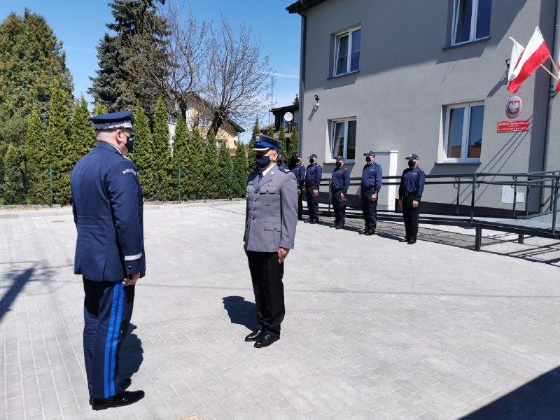 Otwarcie Posterunku Policji w Kotuniu - Zdjęcie główne