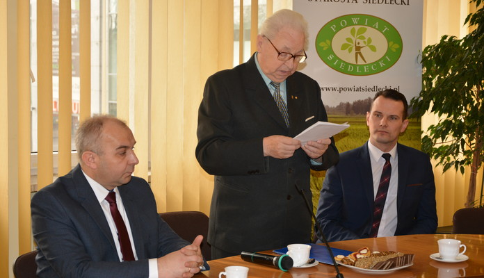 Spotkanie z Powiatową Radą Kombatancką w Siedlcach - Zdjęcie główne