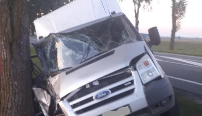 Wypadek na drodze krajowej nr 2 - Zdjęcie główne