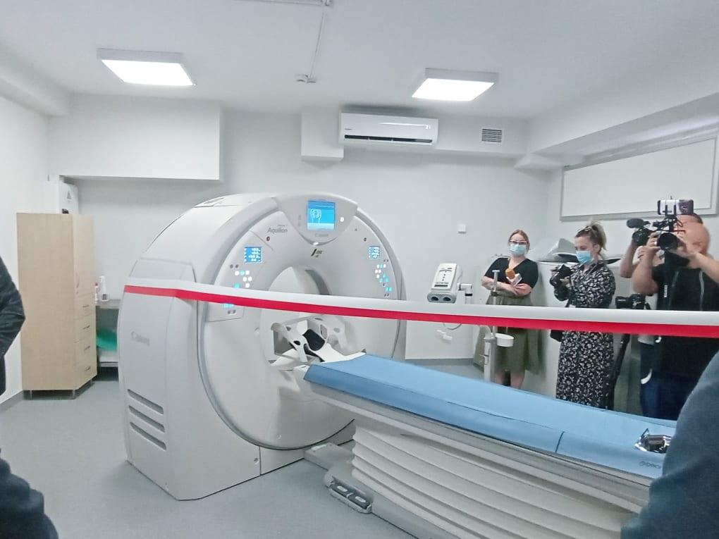 Nowy tomograf komputerowy w Szpitalu Miejskim w Siedlcach - Zdjęcie główne