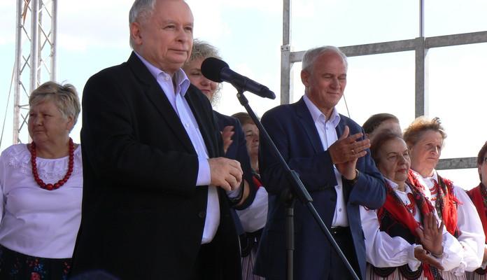 Kaczyński w Zbuczynie: Zadbamy o Polskę powiatową - Zdjęcie główne