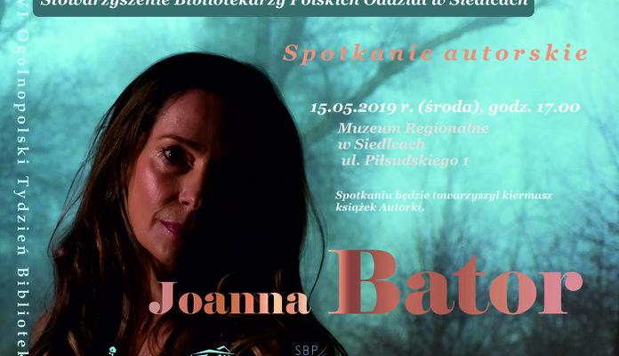 Joanna Bator w Siedlcach - Zdjęcie główne