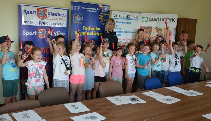 Uczniowie z wizytą w KMP Siedlce - Zdjęcie główne