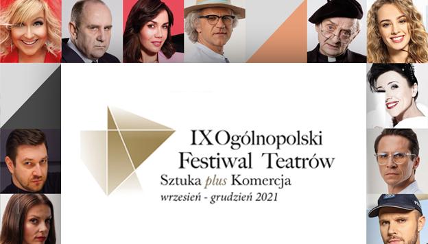 """X Ogólnopolski Festiwal Teatrów """"Sztuka plus Komercja"""" w Siedlcach - Zdjęcie główne"""