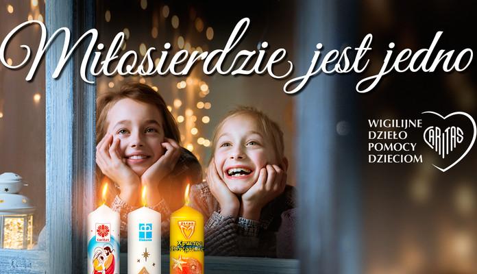 Caritas: kup świecę i pomóż - Zdjęcie główne