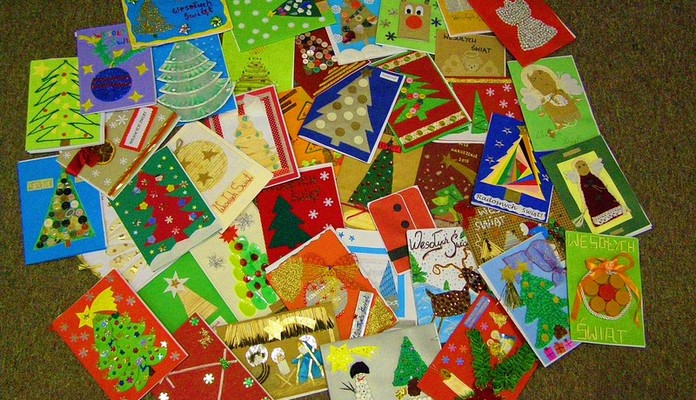 Zaprojektuj swoją kartkę świąteczną na Boże Narodzenie - Zdjęcie główne