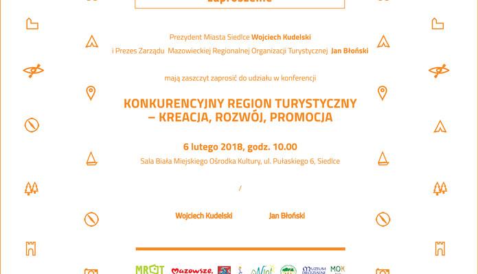 """Konferencja """"Konkurencyjny region turystyczny – kreacja, rozwój, promocja"""" - Zdjęcie główne"""