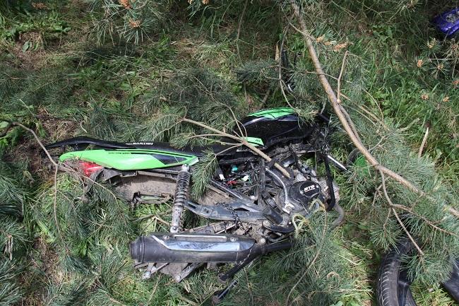 Nastoletni złodzieje motorowerów w rękach Policji - Zdjęcie główne