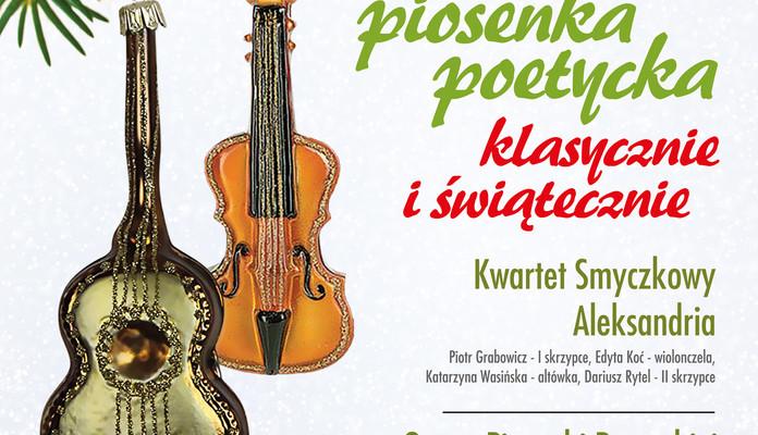 Piosenka poetycka klasycznie i świątecznie - Zdjęcie główne