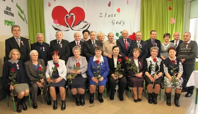 Gmina Skórzec: Przeżyli ze sobą 50 lat - Zdjęcie główne