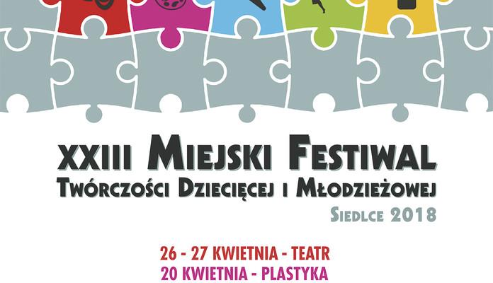 Koncert Laureatów XXIII Miejskiego Festiwalu Twórczości Dziecięcej i Młodzieżowej Siedlce 2018 - Zdjęcie główne