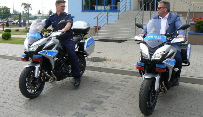 Dwa ścigacze dla policji. Miasto dołożyło - Zdjęcie główne