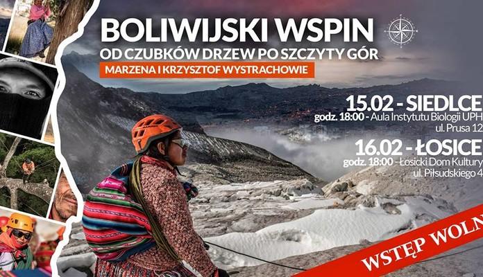 29. spotkanie z cyklu VITOexTrEAM: Boliwijski Wspin - Zdjęcie główne