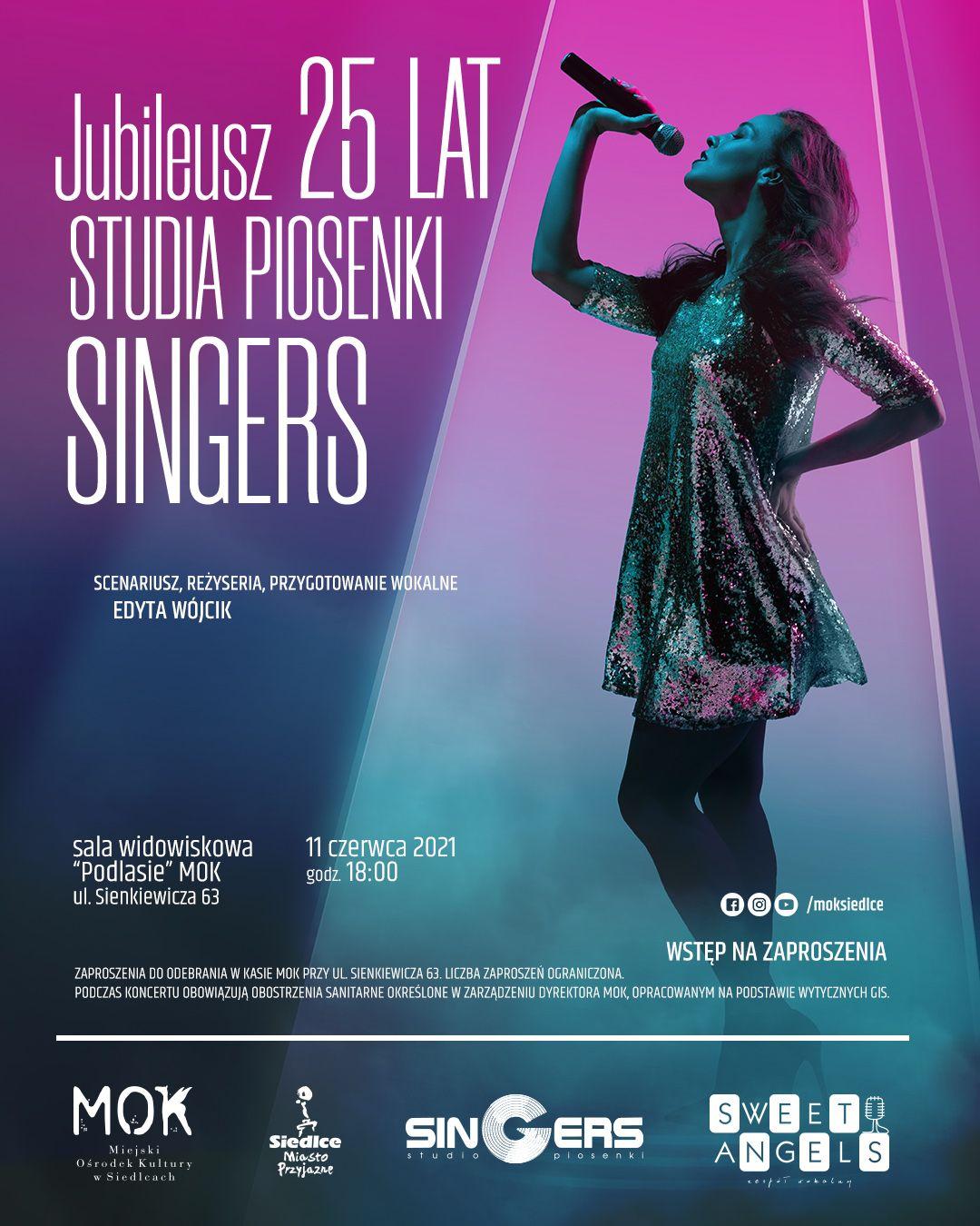 Jubileusz 25 lat Studia Piosenki Singers - Zdjęcie główne