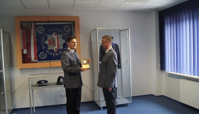 Pożegnanie oficera prasowego KMP w Siedlcach - Zdjęcie główne
