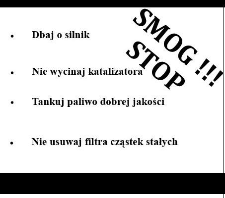 """Działania """"Smog"""" - Zdjęcie główne"""