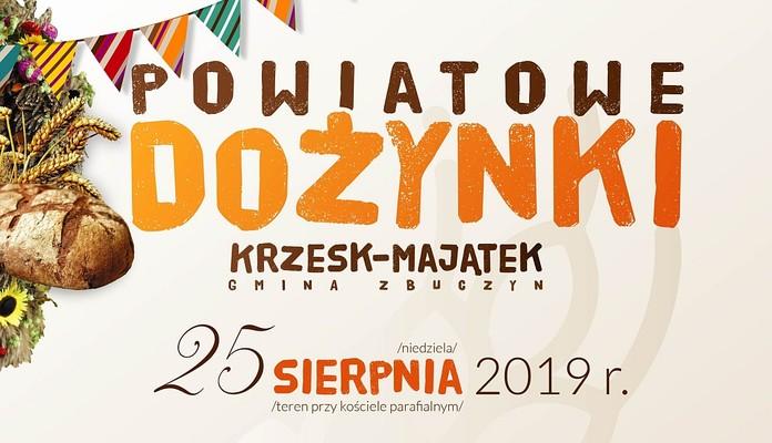 Krzesk-Majątek - dożynki powiatowe z Zenkiem - Zdjęcie główne