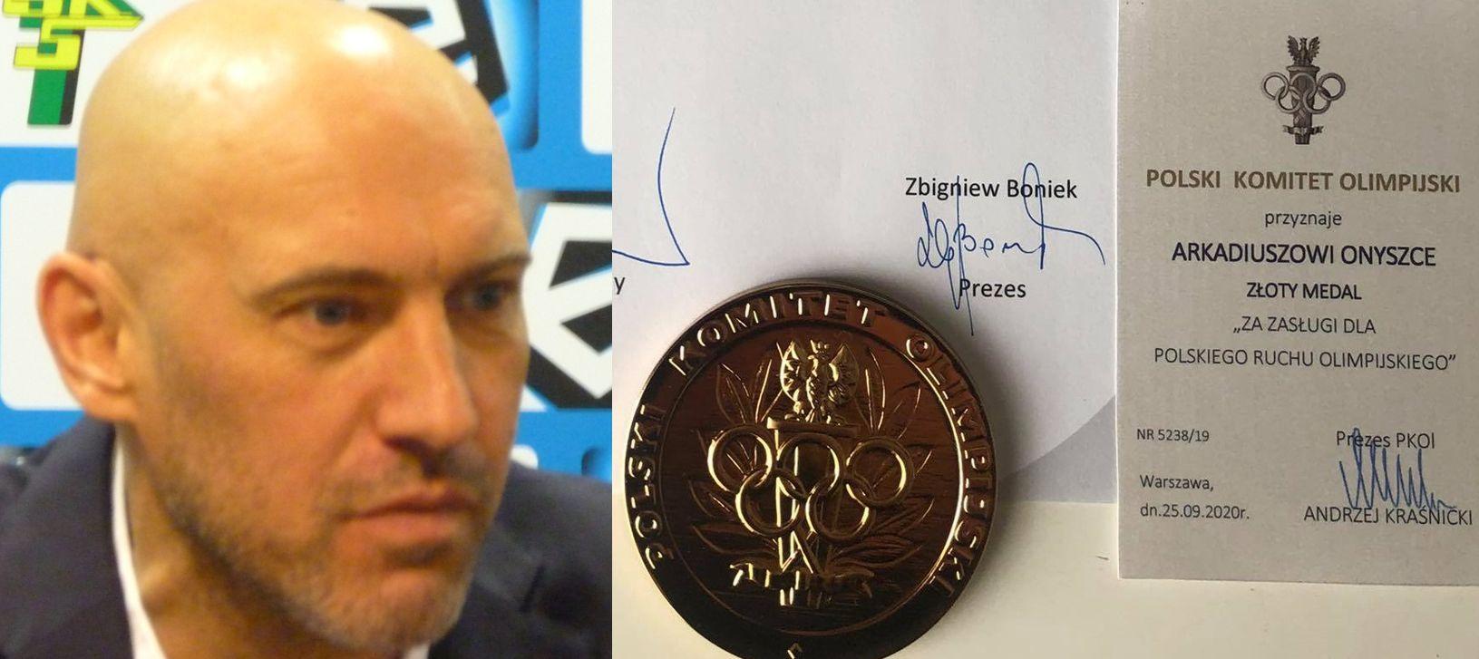 Powiatowy radny dostał medal od Komitetu Olimpijskiego - Zdjęcie główne