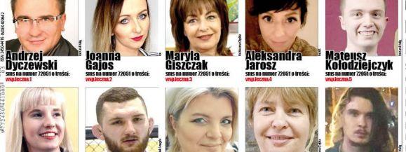 Z nich Czytelnicy wybiorą Człowieka Roku Ziemi Łęczyńskiej - Zdjęcie główne