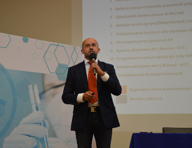 W Lublinie startuje produkcja leku na COVID-19. Inicjatorzy: Jest pierwszy na świecie - Zdjęcie główne