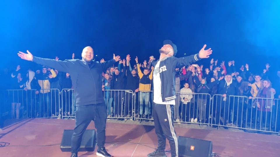 Setki osób na koncertach hip-hopowych w Łęcznej  - Zdjęcie główne