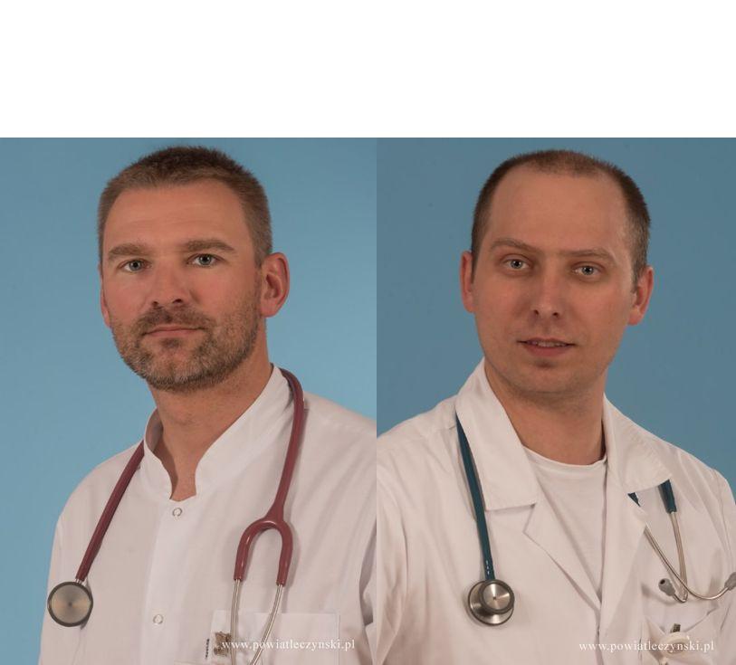 Lekarze z Łęcznej odznaczeni za walkę z pandemią - Zdjęcie główne